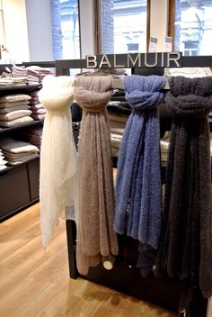 Balmuir new shop in shop at Stockmann Helsinki, thank you for the picture, Fabulous things blog!