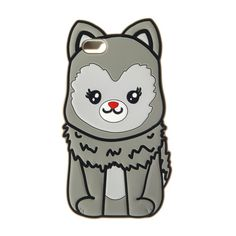 Cute Silicone Husky Phone Case - iPhone 6