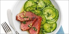 20 Minuten - Gurkensalat mit Entenbrusttranchen - News