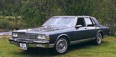 1988 Chevrolet Caprice Bougham.