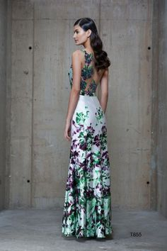 Vestido Barbara Bela, inspirado no livro O Jardim Secreto