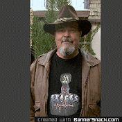 "Kurtis Sanders wearing Isabella Jantz's  ""CRACKS - A Mysterious Love"" T-Shirt."