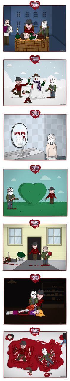 Freddy & Jason - A Lovestory