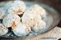 snowball cookie recipe