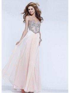 Alluring Silk Like Chiffon A-line Sweetheart Neckline Floor-length Evening Dress Ball Dresses