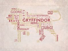 Gryffindor Lion. Courage and Bravery.