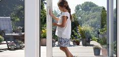 Shoulder Dress, White Dress, Dresses, Fashion, Patio, Windows And Doors, Build House, Balcony, Homes
