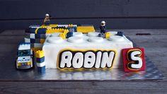 Liljan Lumo: Lego city Police -cake for Robin