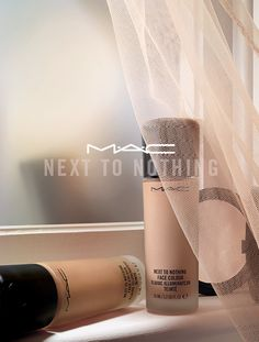 Take a look at MAC's new Next To Nothing Face Colour, a sheer liquid foundation that feels like a moisturizer, but has the staying power of a powder.