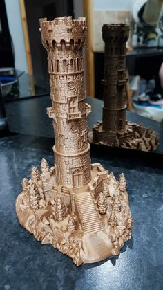 Miniature Lookout Tower by @spikeinkent