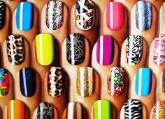 Wowwww.... This is my collection nail artssss