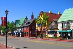 Solvang, CA - cute German town - Paula's Pancake House had amazing light and fluffy Belgian waffles!  Wine Walk Wednesday - third Wednesday of each month, great way to stroll the town.