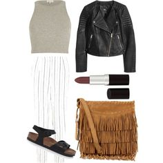 Casual Spring by olive-izzet on Polyvore featuring polyvore, fashion, style, River Island, H&M, Birkenstock, Polo Ralph Lauren and Rimmel