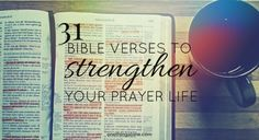 Looking for verses to inspire you toward a deeper life of prayer? That's what today's article is all about.  As we've journeyed so far into the Inner Life of Powerful Prayer, we've talked about…