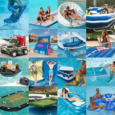 21 Ingenious Pool Toys and Floats For Adults Like this.