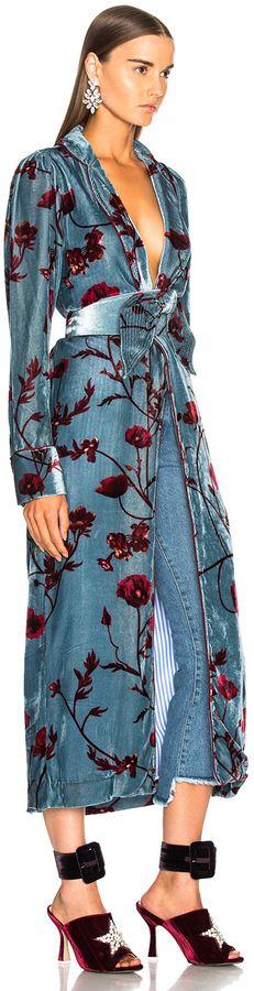 #JohannaOrtiz #Florari Printed #Silk Rayon #Velvet Belted #Kimono  #kimludcom #sscollective @kimludcom #FridayFeeling #xmas #christmas #ChristmasGift #Holidays #NewYearEve #HappyNewYear