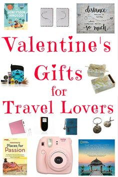 Valentines is soon here! Here is a list of hot travel gifts for everyone who loves travelling the world and combine the love of travelling and friendship!