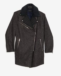 rag & bone Turner Zip Detail Coat