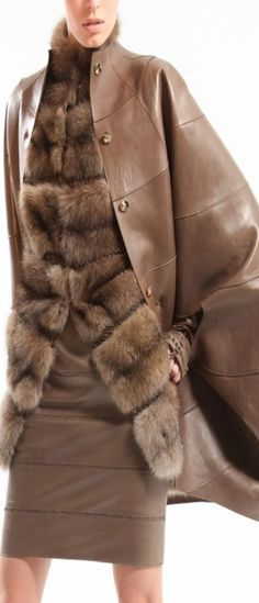 Leather and Fur.