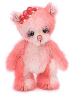 India by Pipkins Bears - artist teddy bear - handmade in England - OOAK #PipkinsBears #Perfectforany