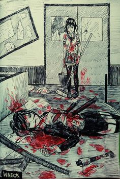 Wreck (yandere simulator) by TachTan