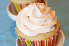 Gluten, Dairy, and egg Free Vanilla Cupcakes w/ Dairy-Free Buttercream Frosting