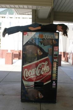 planking coke machine