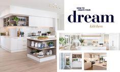 Beautiful Kitchens, Cool Kitchens, Kitchen Storage Solutions, Kitchen Benches, Best Kitchen Designs, Functional Kitchen, Kitchen Trends, Storage Cabinets, Modern House Design