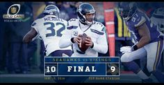 Seahawks win! #SEAvsMIN #GoHawks