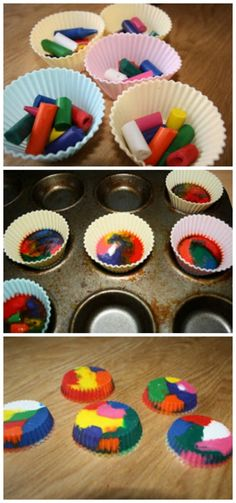 We love making colourful crayon cakes, they're fun to make and when they're done, they're even more fun to draw with. To make your own crayon cakes, arrange broken crayons in some paper cake cases like we've done below (we tend t use cheap silicone cases and keep some just for this but paper works more »