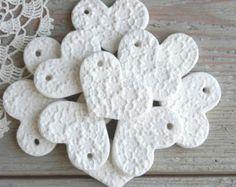 These wholesale salt dough heart ornaments are unique and adorable!  Each is…