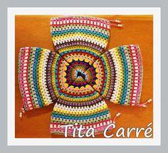 O que será essa peça em crochet?