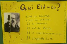 The French Corner: Qui est-ce ? A Celebrity Guessing Game Guessing Games, Teaching French, France, Writing Activities, Mini Books, Celebrity, Corner, French Stuff, School Stuff