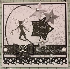 Made using the Fairy Magic kit from Lelli-Bot Crafts