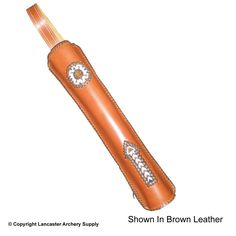 Legacy Leather Blazing Arrow Back Quiver
