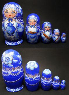"Nesting doll ""matryoshka"" , Russian art"