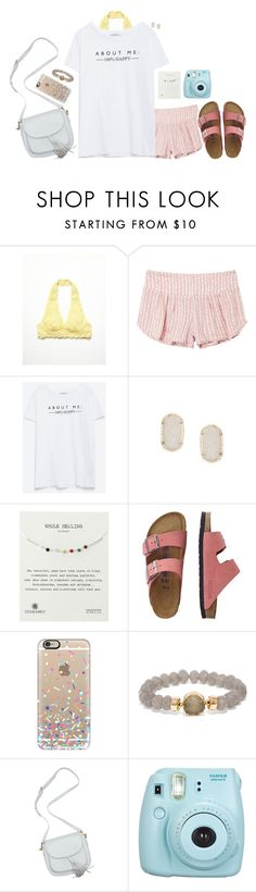 """""""100% happy!!!!:))))"""" by peytonalexandra ❤ liked on Polyvore featuring Free People, RVCA, Zara, Kendra Scott, Dogeared, TravelSmith, Casetify and BaubleBar"""