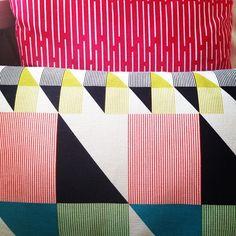 Gullfuglen cushion at home @karucell #funkle