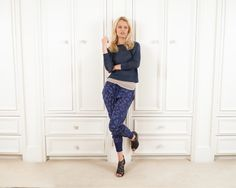 MiH loose fit sweater with Zoe Karssen leopard sweatpants