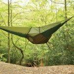 Natuurlijke Hangmat-tent trekt de aandacht