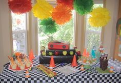 Kachow! Cars Party Birthday - cars