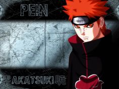 Anime Manga Wallpaper Gratis: Pain Wallpaper Manga