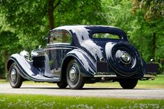 Bentley 3.5 Litre coupe, 1936
