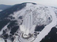pisteplan Harrachov februari 1996
