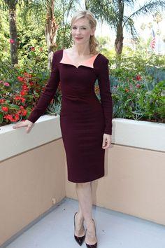 Cate Blanchett en robe Roksanda Ilincic de la collection automne-hiver 2013-2014