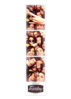 Never give up trying to get more people in our photo booth. This one is up there.