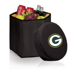 NFL Collectibles - Bongo Cooler (Green Bay Packers ) Digital Print - Black
