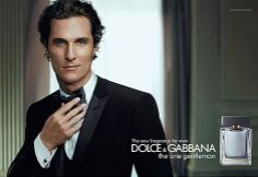 Matthew McConaughey Is Dolce And Gabbana's The One Gentleman. Ad Campaign — StyleFrizz