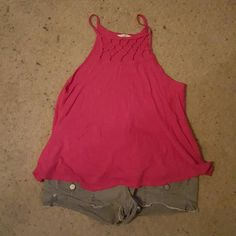 Tank top Cute summer tank. Cute design up top goes with anything. Only worn twice don't wear anymore. Great condition. Flowy top. Aeropostale Tops Tank Tops