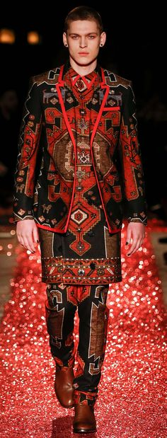 Givenchy - F 15 Dress, pants, or suit? Looks to me like someone needs to check…
